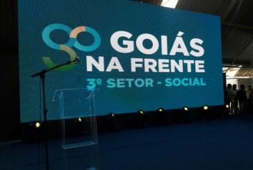 """Participando do Lançamento Prêmio """"Reconhece Goiás"""""""
