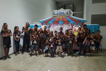 Espetaculo: Circo Turma da Monica, no Teatro Rio Vermelho