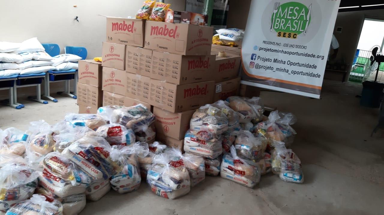 Recebimento e distribuição de Alimento